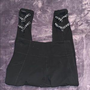 Black Calvin Klein Leggings with Pockets